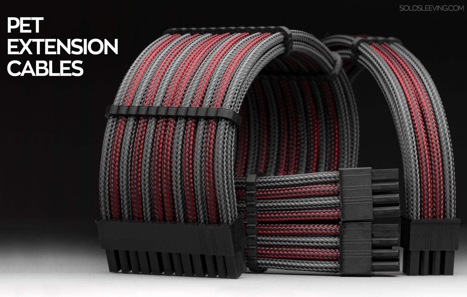 Shop premium PET sleeved PC extension cables.